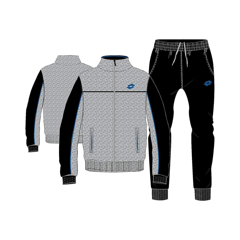 Lotto Mason Vi Suit Rib JS - Chándal, Hombre, Gris(GRY DKM/BLK ...