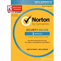 Symantec Norton Security Deluxe - up to 3 Devices 3.0 (3-Users)