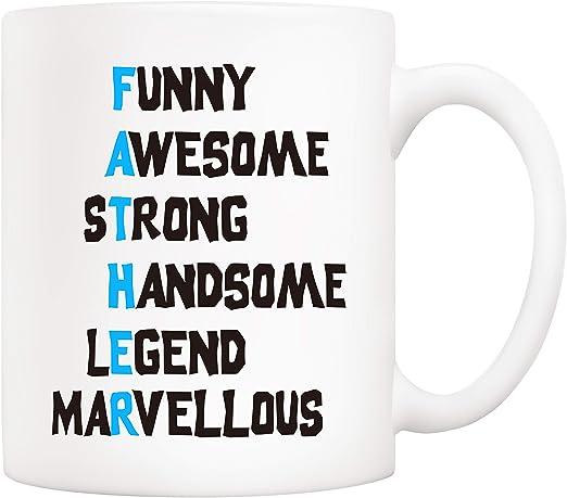 Amazon.com: 5Aup taza de café divertida para regalos de ...