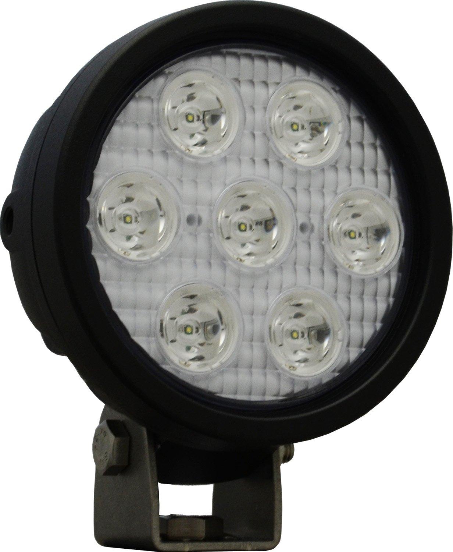Vision X Lighting XIL-UM4010 Utility Market Black 4 Round 3W Seven 10 Degree Narrow Beam Work Light