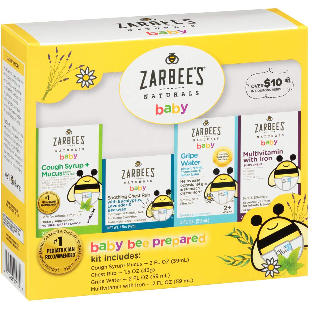 Zarbee's Naturals Baby Bee Prepared Kit with