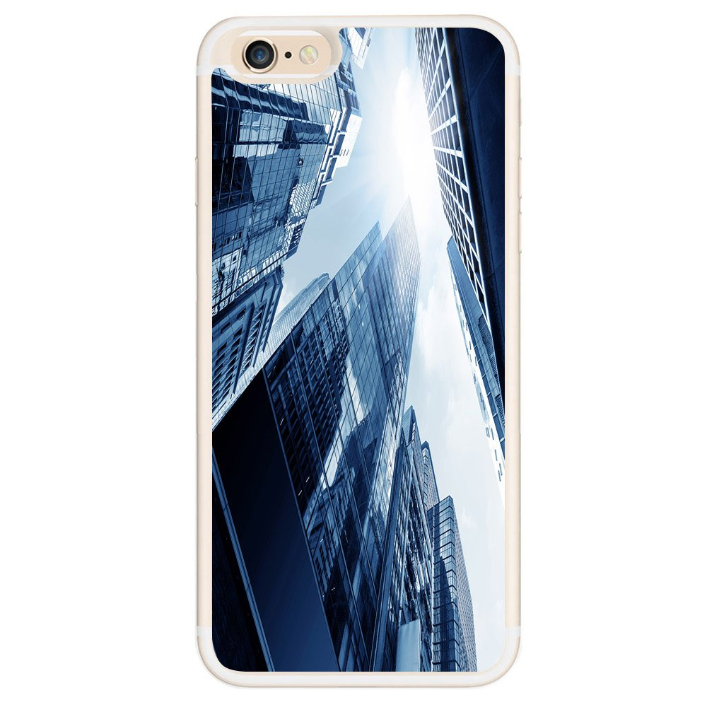 iPhone 6 Case, iPhone 6S Case, Slim Scratch Protective Case Fit for Apple iPhone 6 Plus/6S Plus 4.7 inch Hybrid Hard Back Cover and Soft Silicone Funny Urban Subway Construction(Transparent) vanfanhome yt-sjk-535146s-4.7