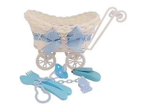 Poco CHERISH azul cesta/Regalo de recuerdo para cochecito de bebé/guardería Decoración Regalo