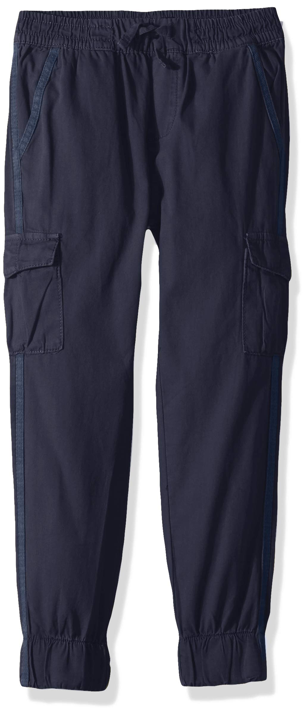 7 For All Mankind Kids Boys' Little Jogger Pant, Canvas Navy, 6