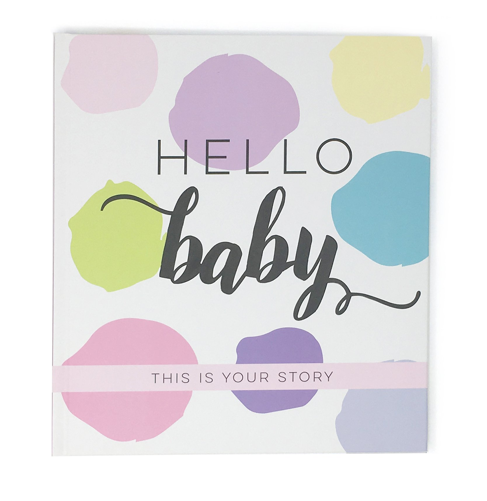 Bobee Baby Journal Memory Book Girl Baby's Journey First 5 Years Pregnancy and Birth Story, Footprints, Months 1-12, Birthdays 1-5, First Day of School, Special Memories