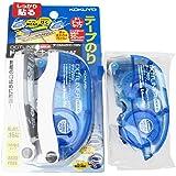 Kokuyo Tape Glue Dotliner Hold Blue Ta-Dm4200-08N Body & Refill Set