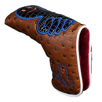 Amazon.com: NUEVO Golf Putter de golf Pulgar Headcover piel ...