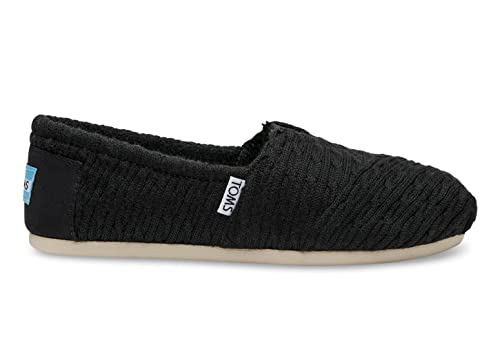 | TOMS Women's Classics Cable Knit with Shearling