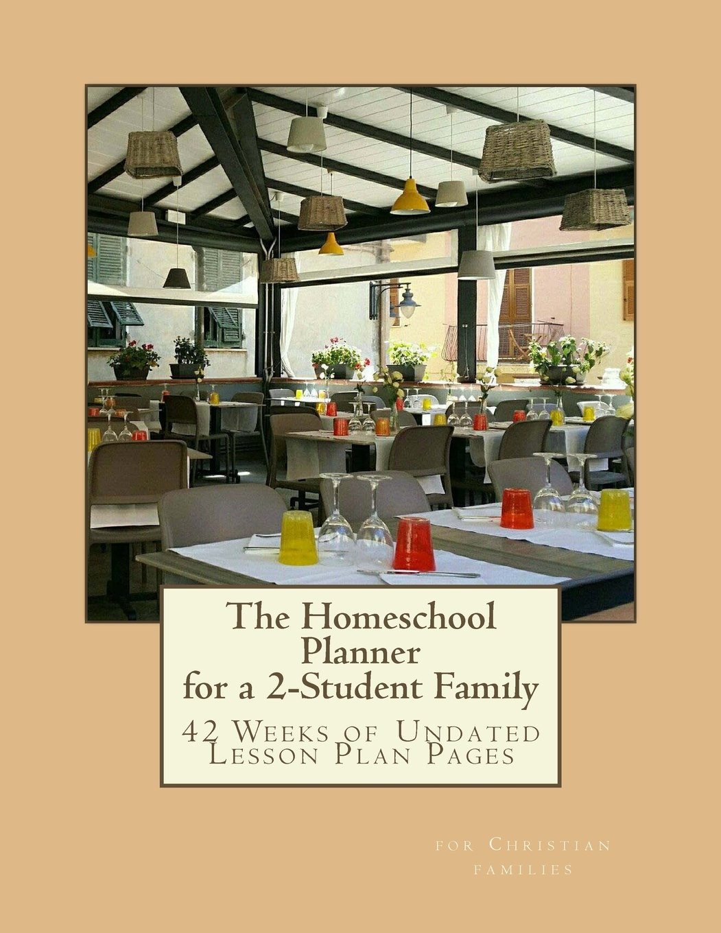Download The Homeschool Planner for a 2-Student Family: 42 Weeks of Lesson Plan Pages pdf