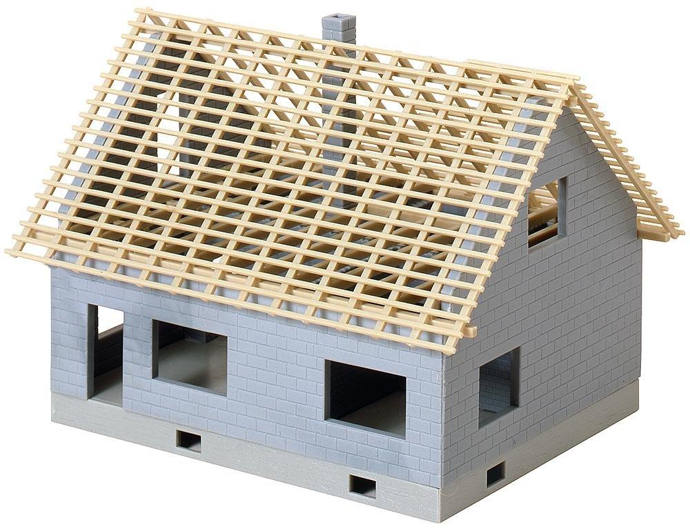 KATO ファーラー 建築中の住宅 ストラクチャー 鉄道模型 外国製 HOゲージ