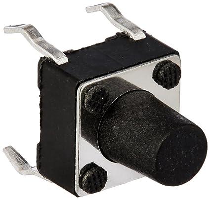 50Pcs Momentary Tactile Tact Push Button Switch 4 Pin DIP 6x6x7.5mm High 7.5mm