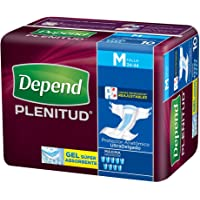 Depend Pañal para Adulto Plenitud - Mediano, 60 pañales (6x10)