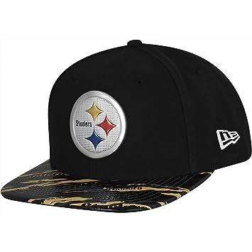 New Era Snapback Cap - COLOR RUSH Pittsburgh Steelers  Amazon.co.uk  Sports    Outdoors 9968c23b4e0