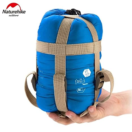 bd4a50a02b1 Image Unavailable. Image not available for. Color  Naturehike NH15S003-D Mini  Ultralight Sleeping Bag ...