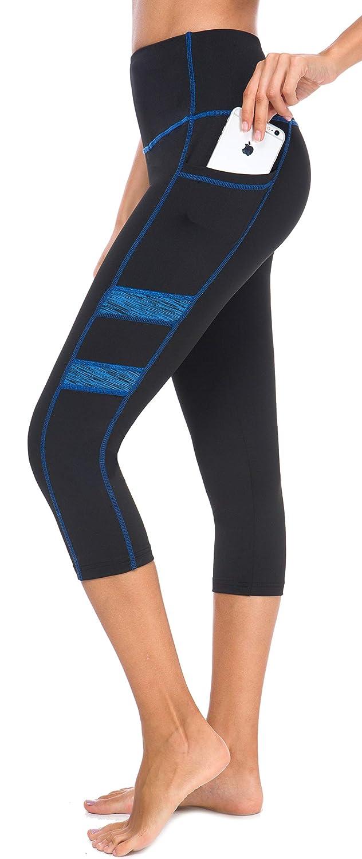 3431165ce6da Amazon.com: Neonysweets Women's Workout Leggings Phone Pocket Running Yoga  Pants: Clothing