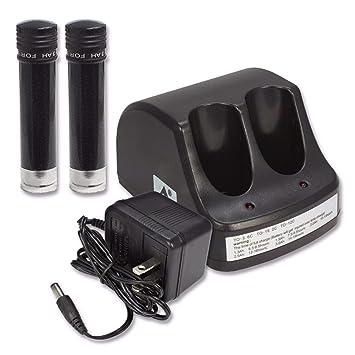 2 baterías + 1 cargador 3.6 V batería para Black & Decker ...