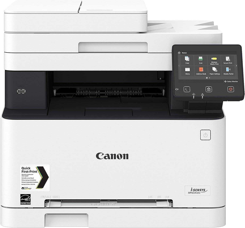 Impresora láser multifunción color Canon i-Sensys MF633Cdw blanca ...