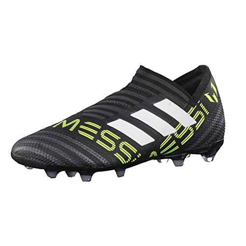 64cfa3f0b72 adidas Nemeziz Messi 17+ 360 Agility Kids FG Football Boots - Core  Black White