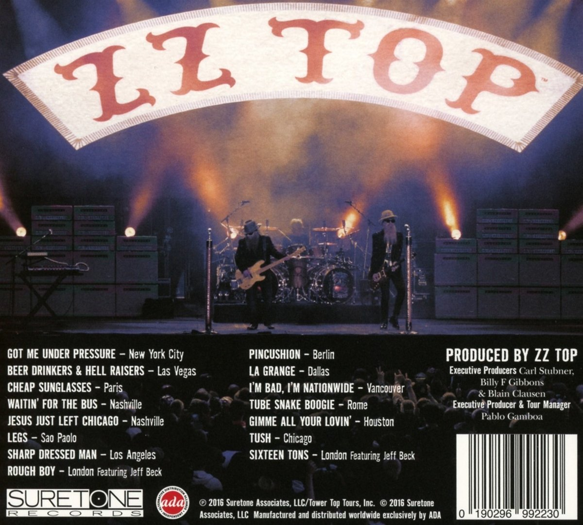 5c0d3137662 ZZ Top - Live - Greatest Hits From Around The World - Amazon.com Music