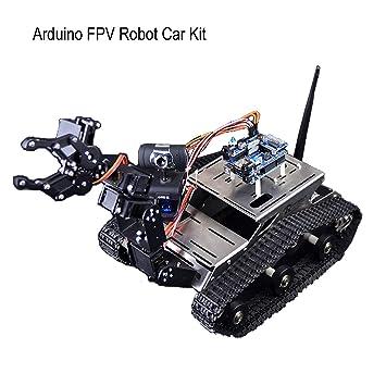 Makerfire Arduino Fpv Robot Car Kit Wifi Utility Intelligent Vehicle