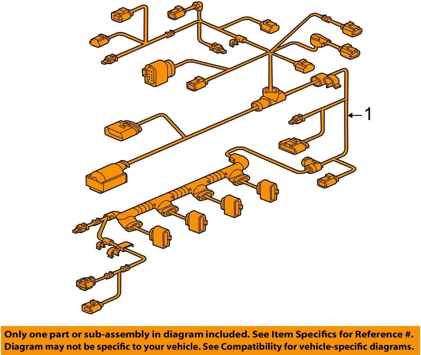 Amazon.com: 2012-2014 Volkswagen Jetta Engine Harness 06J-971-627-F:  Automotive | 2014 Vw Jetta Wire Harness |  | Amazon.com