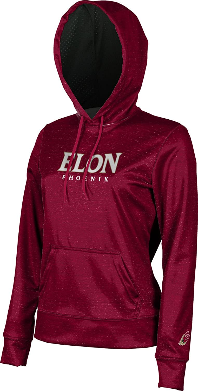 Heathered School Spirit Sweatshirt ProSphere Elon University Girls Pullover Hoodie