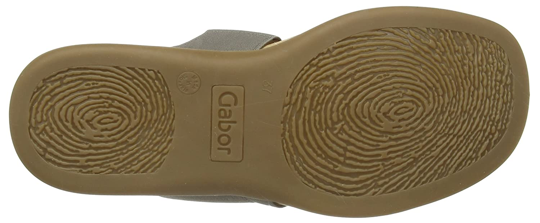 Gabor Damen Schuhes 23.702 Damen Gabor Peep-Toe Sandalen Grau (Fumo) ce41a0