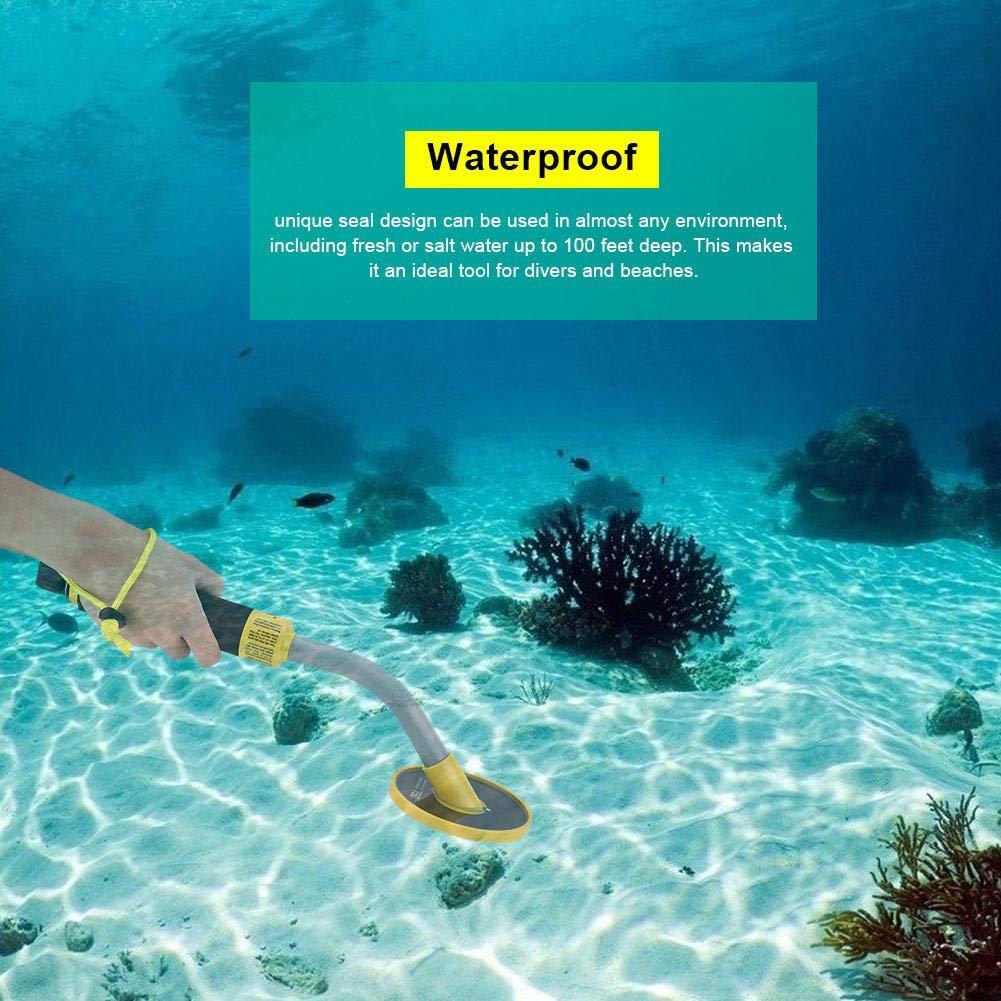 Zerone Detector de Metales subterráneo Profesional, pinperador Picador a Prueba de Agua Treasure Hunter Gold Finder de PI750: Amazon.es: Electrónica