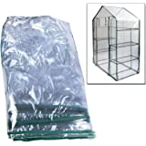WALK IN GREENHOUSE REPLACEMENT COVER PVC OUTDOOR PLASTIC GREENHOUSE COVER