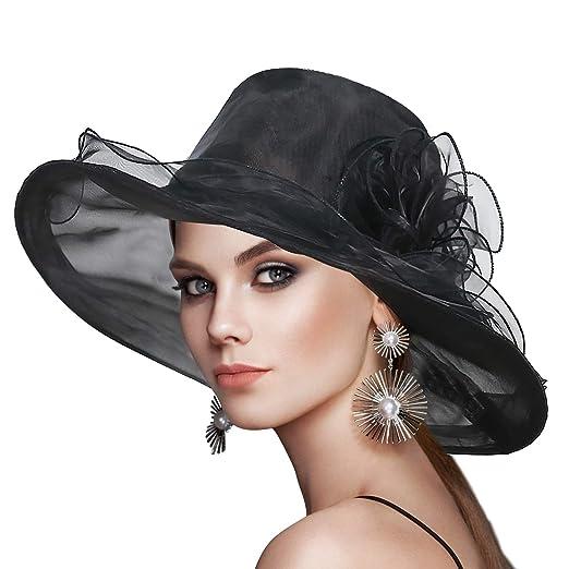 Sombrero de sol kentucky derby de florespara fiesta/bodas/eventos.
