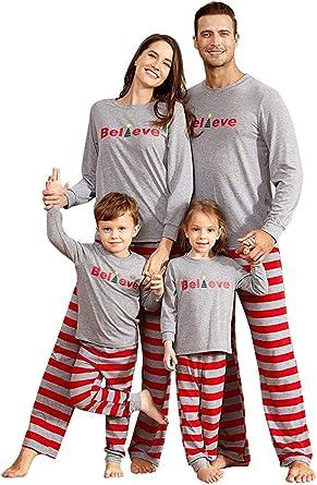 Christmas Family Matching Adult Kids Pyjamas PJS Sleepwear Nightwear Pajamas Set