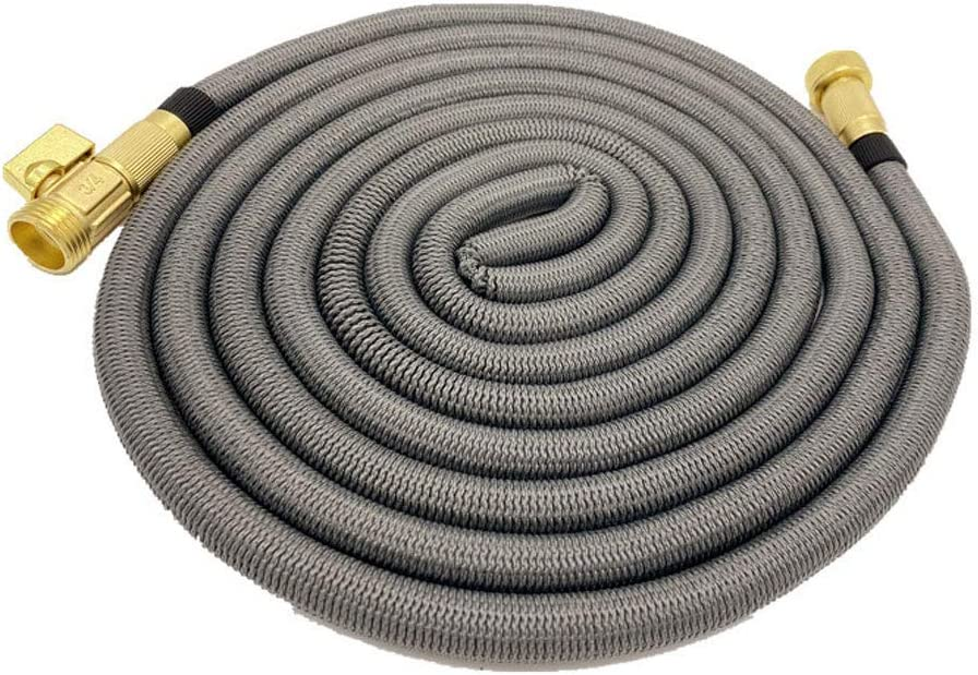 Garden Hose Expandable 7.5~45M Flexible Hose Heavy Duty Leakproof Hose High-Pressure without Spray Sprinkler No Kink Tangle Water Hose Extra Strength Fabric 37M