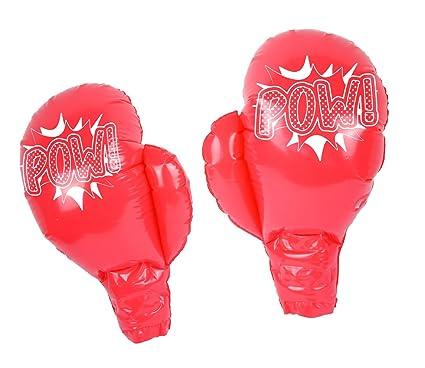 Amazon.com: Diseño de guantes de boxeo hinchable, 15.4 inch ...