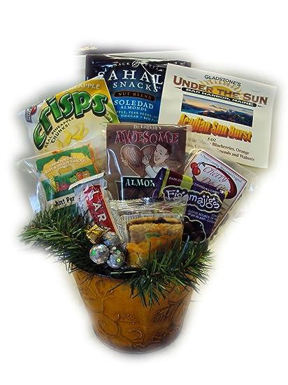 Amazon.com: Fruitcake Alternative Healthy Christmas Gift Basket ...