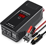 POTEK 750W Power Inverter 12 Volt DC To 110 Volt AC Car Adapter with Dual USB&AC Charging Ports for Laptop, Tablet, Smartphone,Camera and more