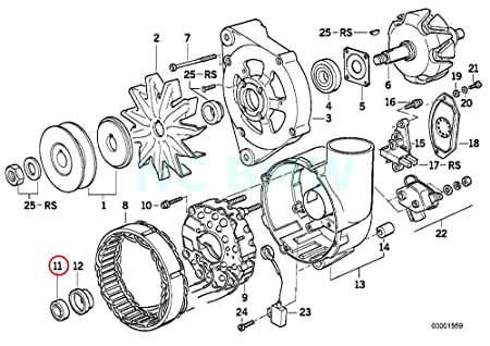 amazon bmw genuine grooved ball bearing automotive Old BMW M3