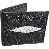 AuthenticAsia Genuine Stingray Skin Leather Bifold Wallet