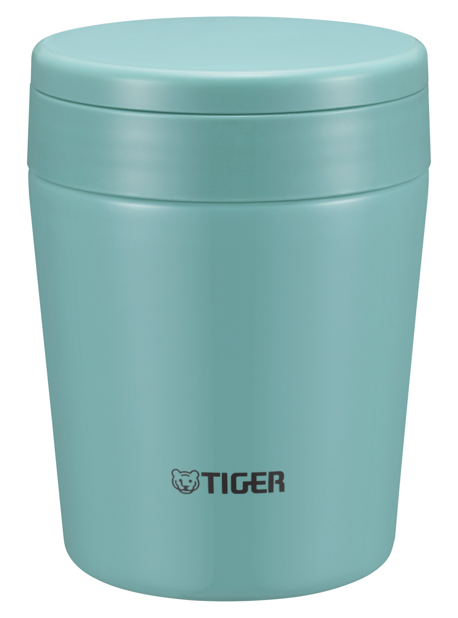 Tiger MCL-A030 AM Vacuum Insulated Thermal Soup Cup, Stainless Steel, Wide Mouth, 10 oz/0.30L, Mint Blue