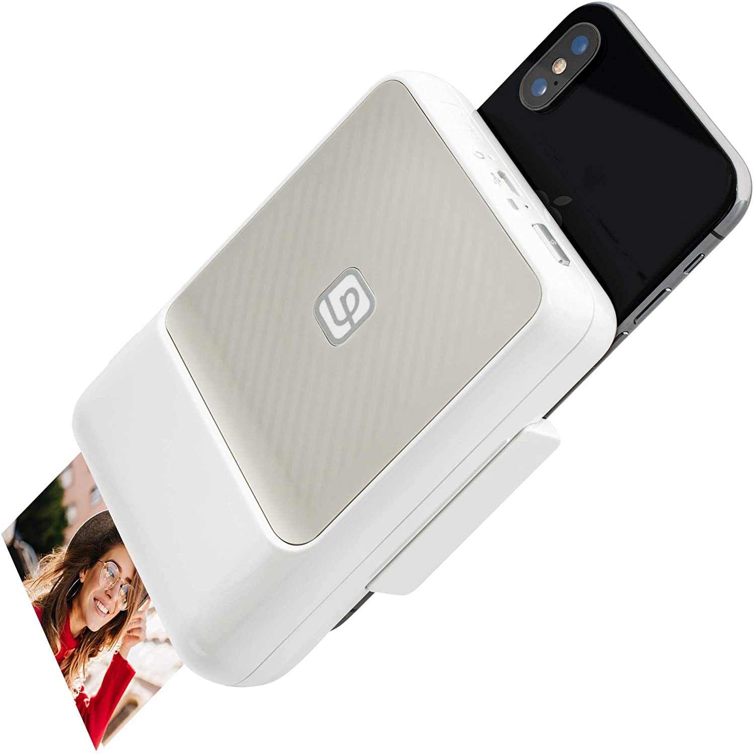 Lifeprint 2x3 Instant Printer for iPhone. Turn Your iPhone Into an Instant-Print Camera for Photos and Video! - White