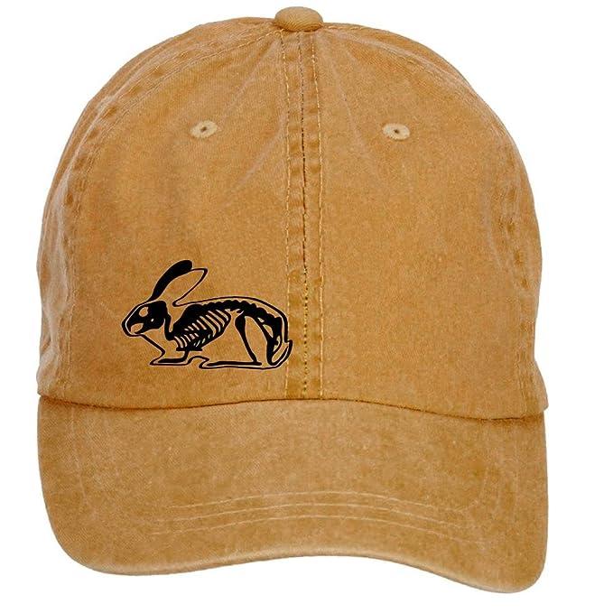 dorkstore Unisex Ray Cony de conejo liebre Velcro gorra de béisbol  ajustable verano Cap  Amazon.es  Ropa y accesorios b8db9efed96