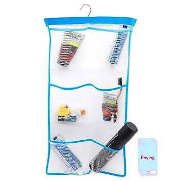 Amazon.com: Phying FishMM - Organizador de baño de malla ...