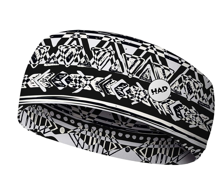 HAD COOLMAX Headband Medellin blue//orange polyester UPF 40 + one size cooling