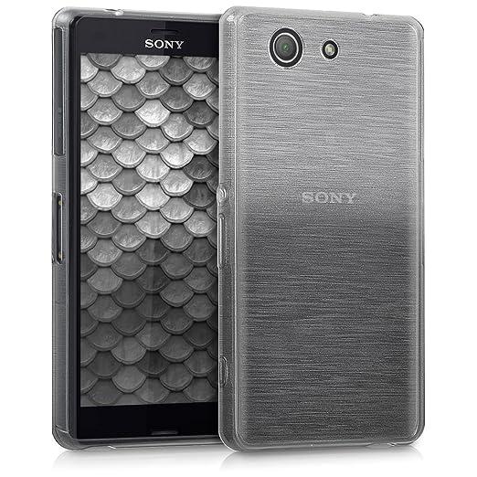 46 opinioni per kwmobile Cover per Sony Xperia Z3 Compact- Custodia in silicone TPU- Back case