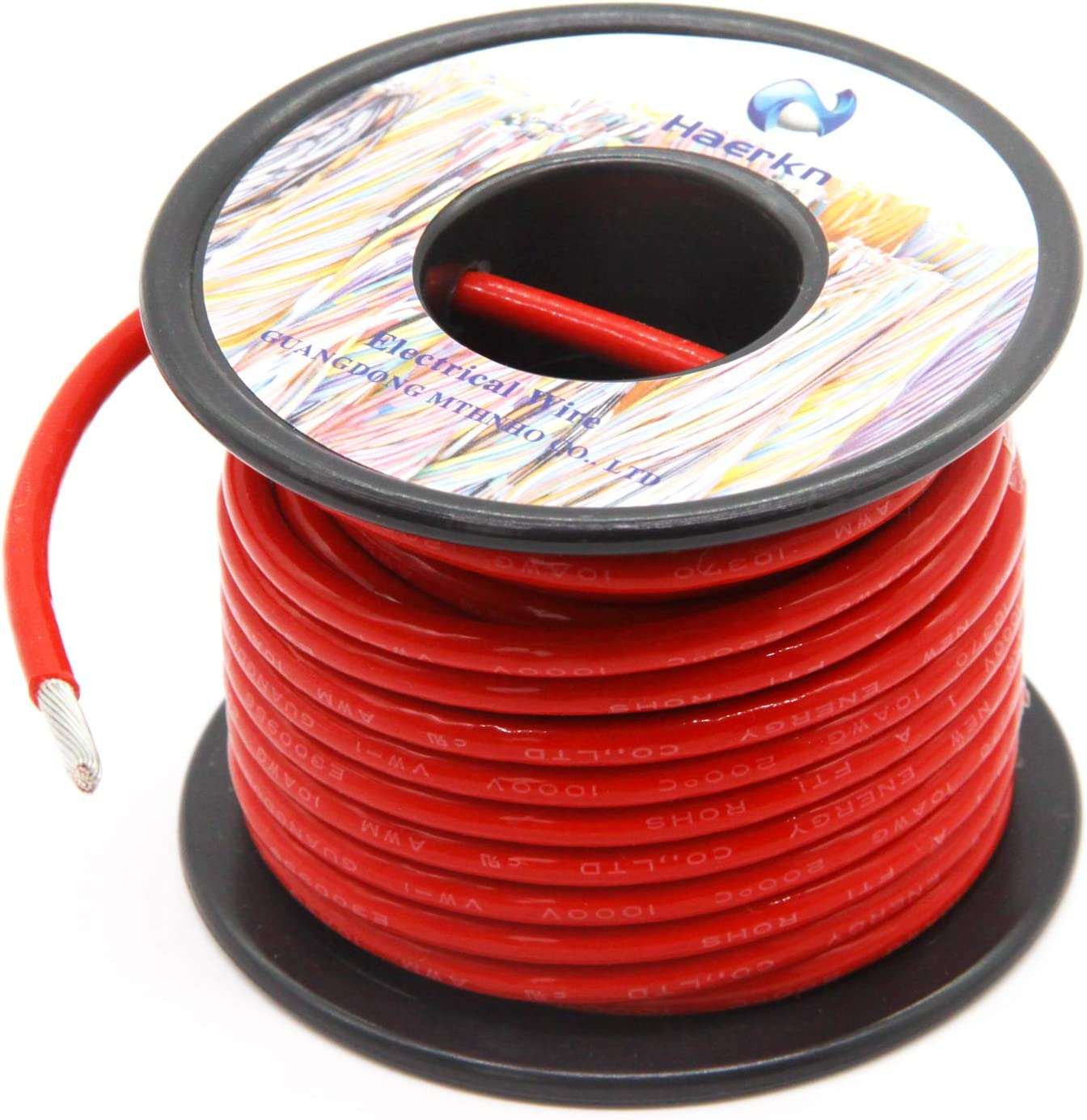 ROAD POWER 100/' 10Ga Red Auto Wire