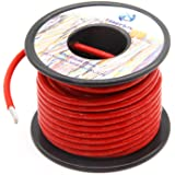 10 Gauge Electrical wire Marine Grade Primary wire Cable High Voltage 1000V Automotive high temperature wire battery…