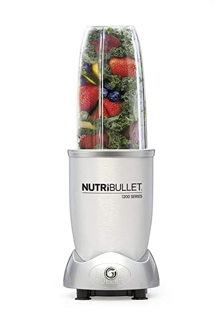 bf9f526d9a Buy Magic Bullet 1200 Series High Speed Blender/Mixer with Smart Technology  (Silver, 1200 W) -9 Pieces Set Online at Low Prices in India - Amazon.in