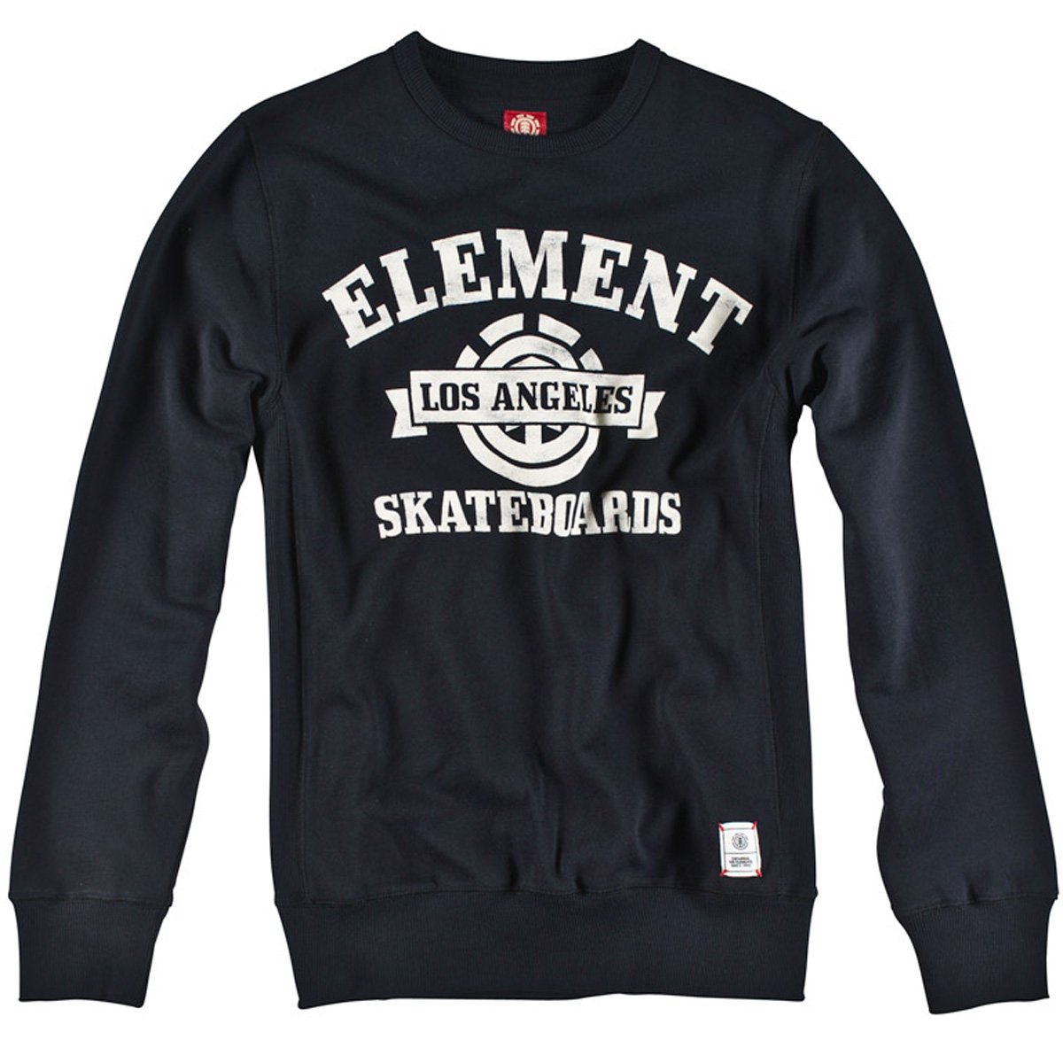 Element Mesa W1 Fashion Fleece Sweatshirt Black Gr. XL