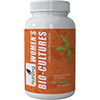 Bio-Cultures Supplement for Women. Special Bacterial strains (Lactobacillus Reuteri and Rhamnosus) for Female Health. Contains Friendly Gut Bacteria. 2.5 Billion CFUs per Capsule by NutriZing