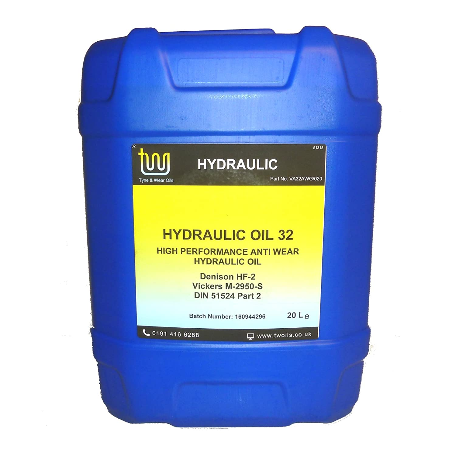 Iso 32 Hydraulic Oil - 20 Litres