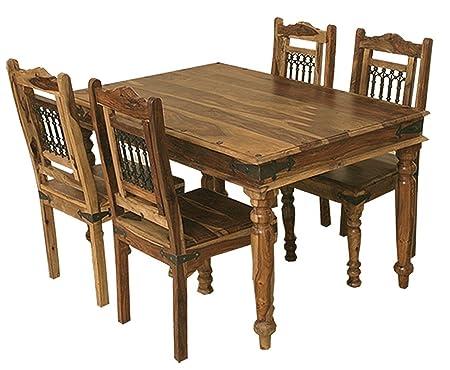 Jali Solid Sheesham Indian Rosewood 1.35 CM Dining Table / Solid Rosewood  Dining Table ONLY /